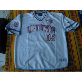 Camiseta-fubu-05-athletics-original-cuello En V-¡¡mirarala!!