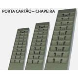 Chapeira Porta Cartão De Aço Para 25 Cartões De Ponto