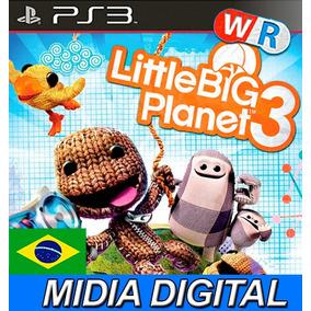 Littlebigplanet 3 Little Planet 3 Ps3 Play3 Portugues Brasil