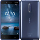 Nokia 8 Dual 64gb 4gb Ram 4g Biometria Tela 5.3 Dual Cam 13m