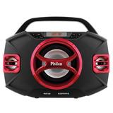 Caixa De Som Amplificadora 100w Rms Philco - Pht100