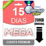 Cuentas Premium Mega 15 Dias - Original - Envio Inmediato