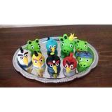 Angry Bird - Muñecos Fondant Para Torta