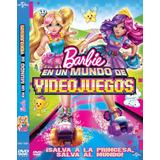 Dvd Barbie En Un Mundo De Videojuegos Nueva Original Cerrada