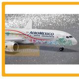 Avion Aeromexico Boeing 787 9 Quetzalcoatl 1:200 Herpa