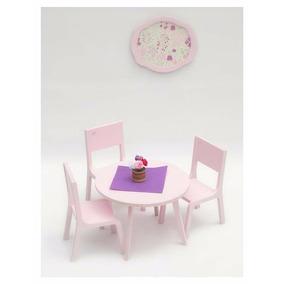 Muebles Casita Muñecas Barbie A Escala