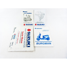 Manual Proprietario Suzuki Burgman 125 2008