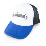 Visera Gorra Tricolor La Delio Valdez - Oficial
