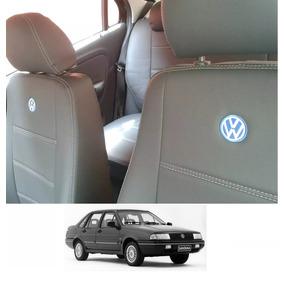 Capa Banco Couro Courvin Volkswagen Santana 1991 A 1997