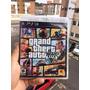 Gta 5 Grand Theft Auto V Ps3 Novo Com Mapa Frete Gratis