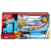 Disney Cars Gray Hauler Playset Caminhão Rei King Tenho Mack