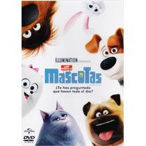 La Vida Secreta De Tus Mascotas 2016 Infantil Pelicula Dvd