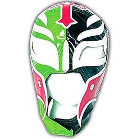 Coleccionable Wwe Rey Mysterio Kid Replica Negro Y Máscara