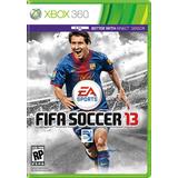 Jogo Fifa 13 2013 Xbox 360 X360 Mídia Física Frete Grátis