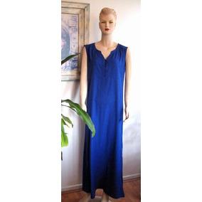 eeb22204e Vestido Azul Elecrtico Nicopoly - Vestidos de Mujer en Mercado Libre ...