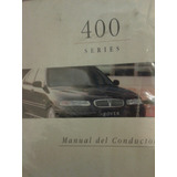 Libro / Manual De Rover Linea 400 - 1996/97 -original -