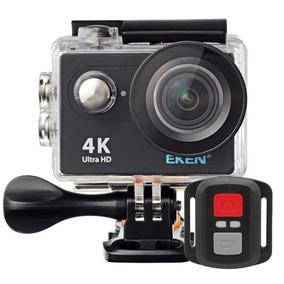 Câmera H9r 4k Filmadora Wifi Fullhd Controle Moto Carro Bike