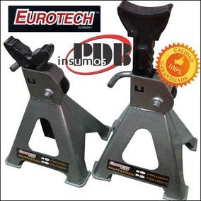 Par De Caballetes Eurotech Profesional Taller 3tns