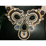 Collar Soutache, Usado