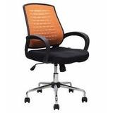Silla Ejecutiva Dell Active Mesh Color Naranja Ergonomica