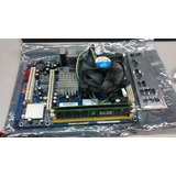 Kit Placa Mae 775 Phitronics G31vs-m Ddr-2 De 2g