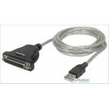 Cable Convertidor Manhattan Usb A Db25 Paralelo