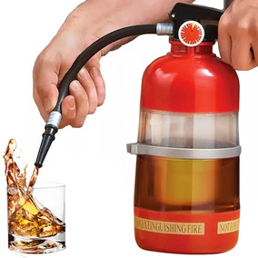 Sifon Para Cerveza Sodas Bebidas Forma De Extinguidor H1089
