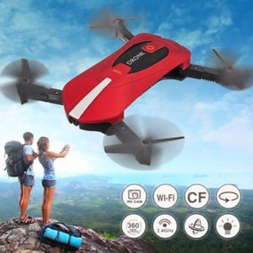 Drone Selfie Mini Câmera Hd 2mp Jy018 Brinquedo - Vermelho