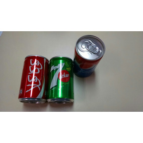 Mini Latinha 7up Pepsi E Coke Coca-cola Importadas Cada