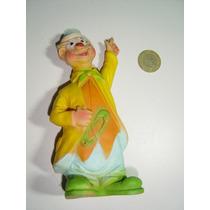Antiguo Muñeco Figura De Payaso En Vinil