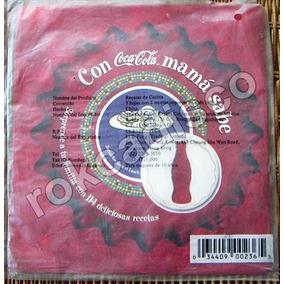 Coca Cola. 6 Recetarios Cada Uno Contiene 5 Hojas De 2 Lbf
