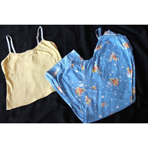 Remate De Pijamas! Tommy Aeropostale Set Pijama Patos Median