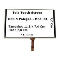Tela Touch Gps Foston Fs 503dt De 5 Pol Original