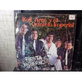 Vinilo Koli Arce Y El Quinteto Imperial Fiesta De Invierno
