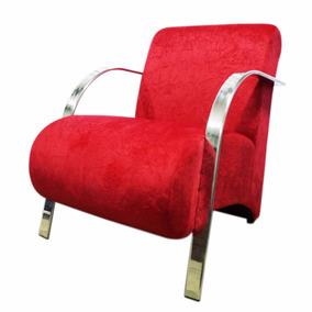 Cadeiras Decorativas, Suede, Jacar, Frete Gratis