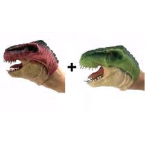 Kit 02 Bonecos Dinossauros Fantoche - Dtc