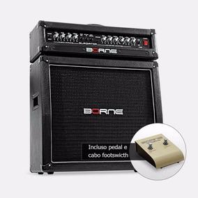 Amplificador Cabeçote Guitar Borne Gladiator 1200 Preto