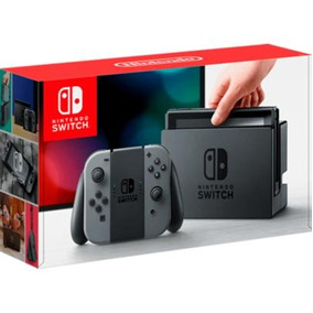 Console Nintendo Switch - Joy-con Cinza