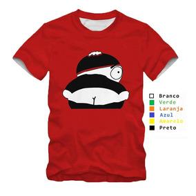 Camisa Personalizada South Park Desenho Vermelho