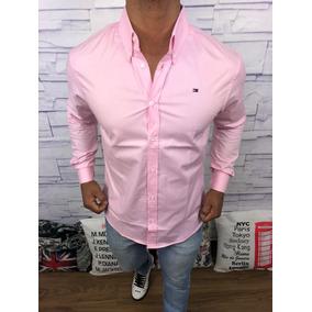 Camisa Social Casual Masculina Slim Fit Polo Raplh Lauren
