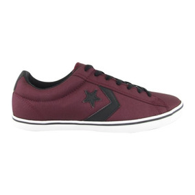 Zapatos Converse As Player Ox B Burgundy/bl 100% Originales