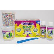 Kit Para Fazer Slime Da Acrilex Kimeleca Arco Iris