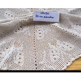 Manteles Carpetas Centros De Mesa Crochet Artesanal