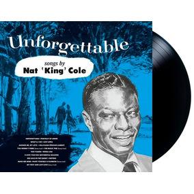 Lp Vinil Nat King Cole Unforgettable Novo Lacrado 180g