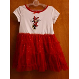 Vestido Minnie Mouse Disney Original 3t