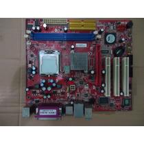 Kit Placa Mãe 775 Msi Pm8pm-v Ddr2+processador+cooler