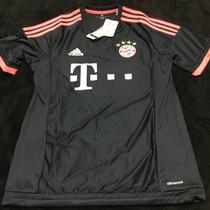 Jersey Bayern Munchen Munich Negro Adidas 2016 Mia San Mia