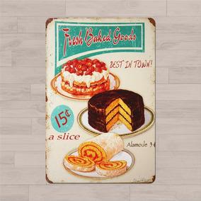 cuadro vintage para cocina cake