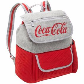Mochila Escolar Coca Cola Coleção 2017