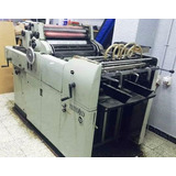 Offset Remato Hamada 52x36 Con Numeracion, Maquina Imprenta